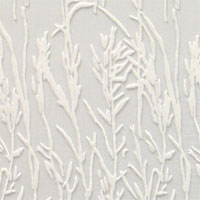 "Burn Out Velvet, 45"", Bamboo - Natural White 039B - 000"