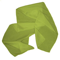 Habotai Scarf, 8 X 54, 8mm - Chartreuse 412 - 406