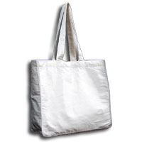 Doupioni Tote Bag, 32 x 34 cm - Dyed White 830 - 100