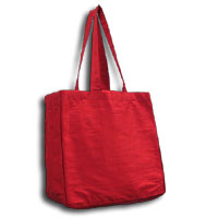 Doupioni Tote Bag, 32 x 34 cm - Red 830 - 200
