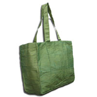 Doupioni Tote Bag, 32 x 34 cm - Apple Green 830 - 406