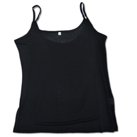 Lt. Camisole - Black Extra Large 9830 - BLK-X